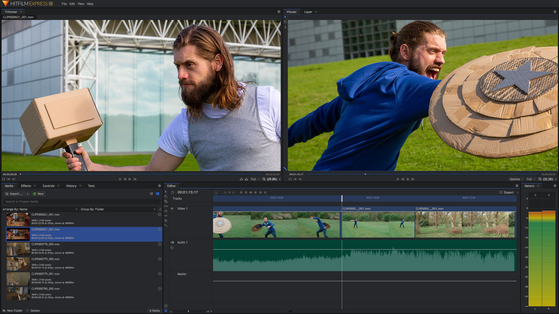 Hitfilm Express Free Video Editing Visual Effects Software Videoers